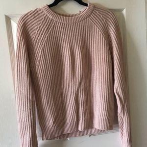 H&M Blush Pink Knit Sweater